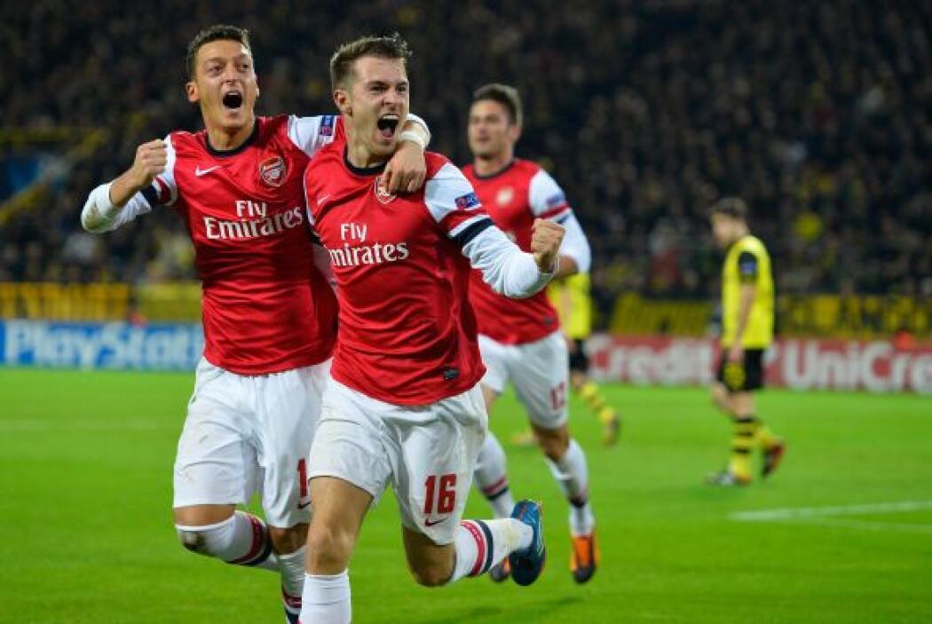 Aaron Ramsey marcó el 1-0 final con el que los 'Gunners' ganaron en terr...
