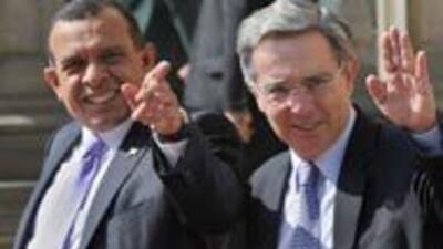 El presidente de Honduras, Porfirio Lobo, realizó visita oficial de dos...
