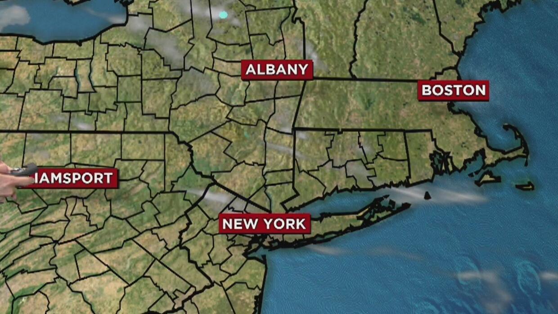 Fuertes vientos acompañarán el domingo de los neoyorquinos