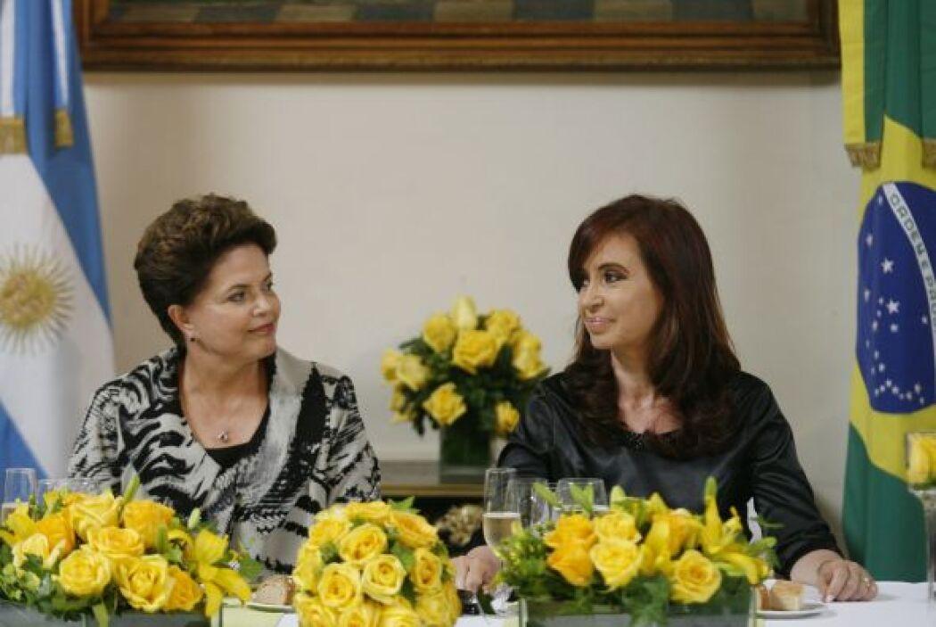 La presidenta de Argentina hizo público su agradecimiento a Dilma por el...