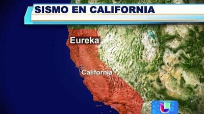 Sismo de 6,9 sacudió las costas de California