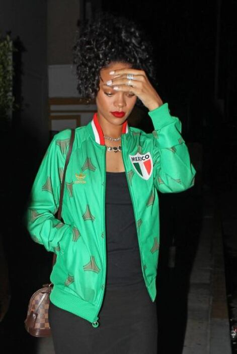 Rihanna le iba nada más y nada menos que a México, hasta se puso triste...