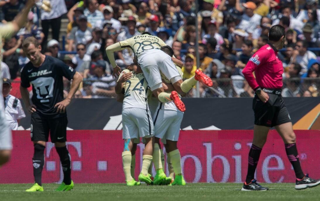 América sufrió, pero al final derrotó 3-2 a los Pumas en CU 011 Festego...