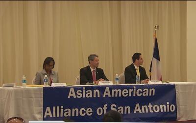 Aspirantes a alcalde de San Antonio participaron en un foro