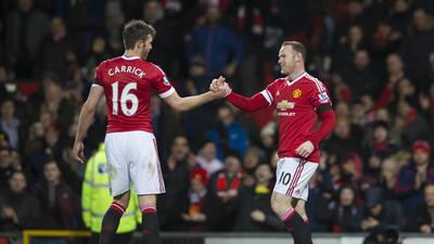 Rooney cerró la cuenta en favor el United