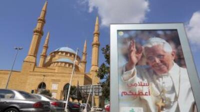 Benedicto XVI visitará de viernes a domingo el Líbano, un viaje difícil...