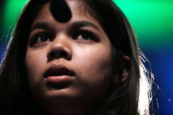 El cuarto puesto fue para una niña, Amber Born, de 14 años y residente e...