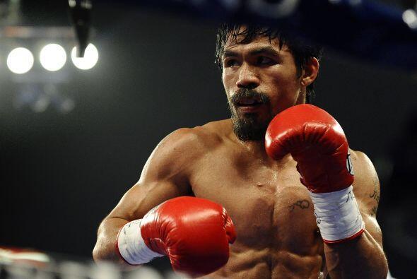 11.- Todos lo quieren ver pelear con Floyd pero en ganancias Manny Pacqu...