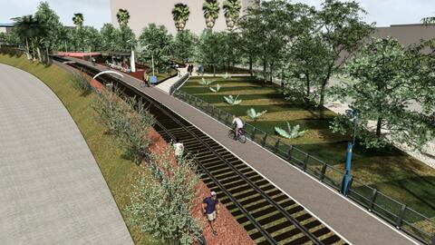 Un sendero para bicicletas previsto en Matamoros, México, conectaría con...