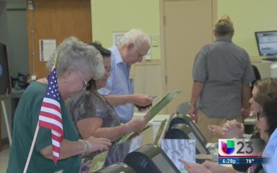 Se registra baja participación en las primarias de Florida
