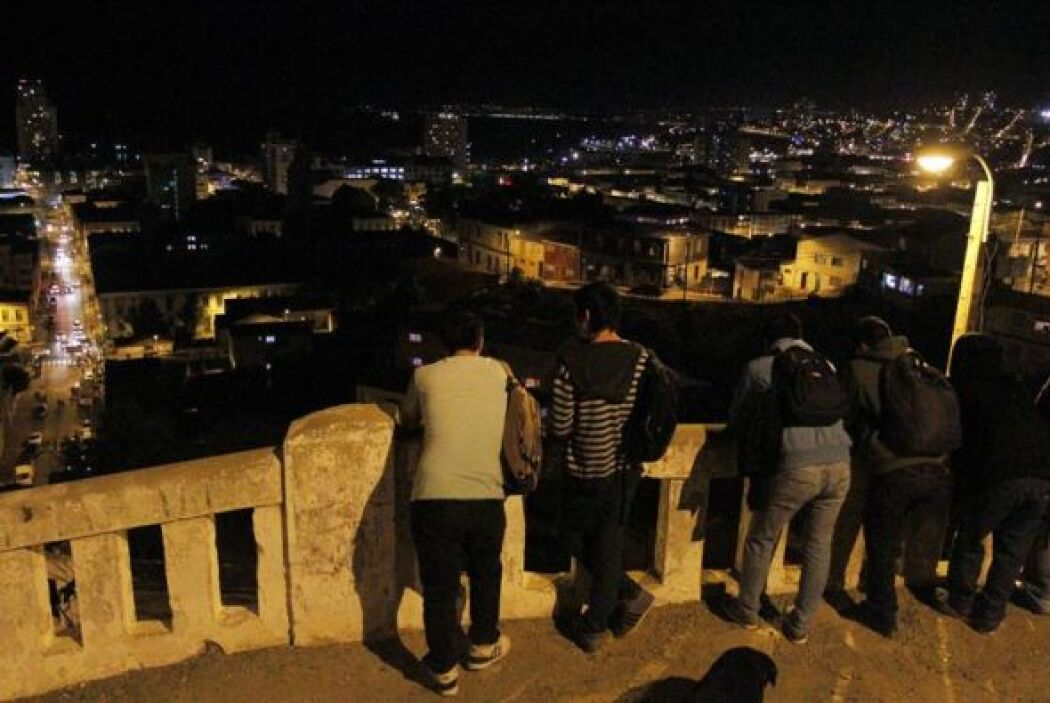 Con el terremoto se dispararon las alertas de tsunami desde Chile hasta...
