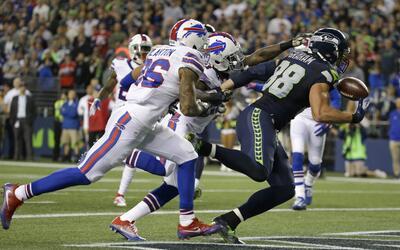 Seahawks le ganó a Bills en un juegazo nocturno donde brilló Jimmy Graham