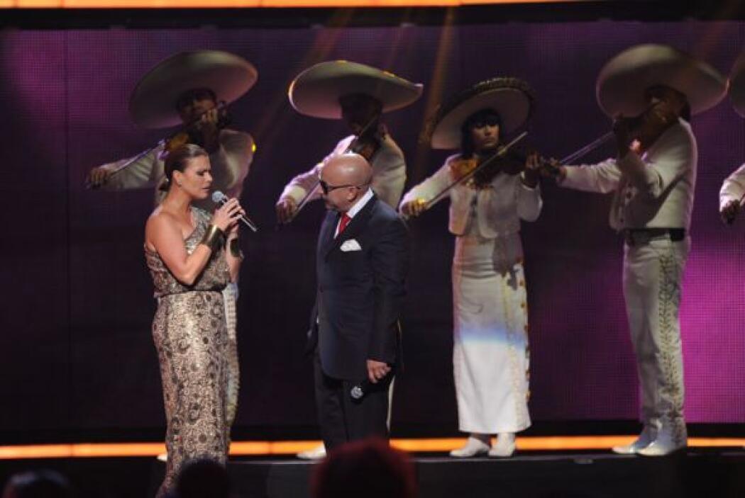 La interpretación de Olga junto a Lupillo fue un momento muy conmovedor...