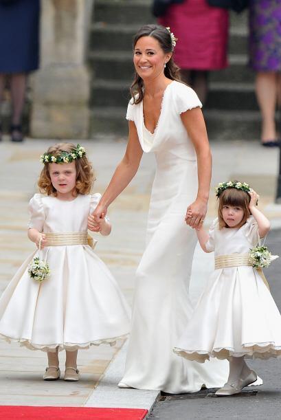 ¿Recuerdan que la hermana de la duquesa Catherine, Pippa fungió como su...
