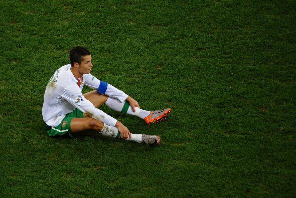 Y así se escribió el triste adiós de Cristiano Ronaldo en el Mundial Sud...
