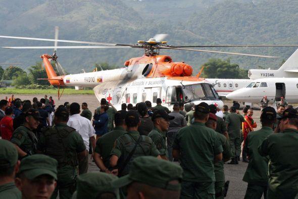 14 de septiembre de 2010.  El choque de un helicóptero de la Armada de V...