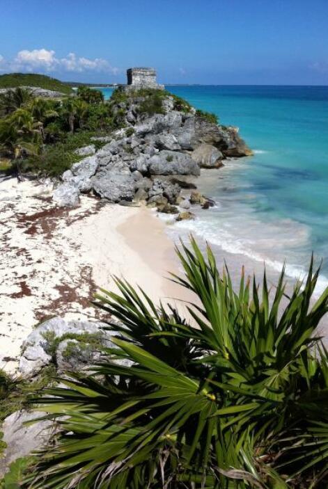 ALTERNATIVA. ¡México! Rinconcitos del caribe mexicano, como Tulum, o cua...
