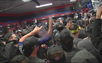 Así celebraron los Cubs su triunfo en la Serie Mundial