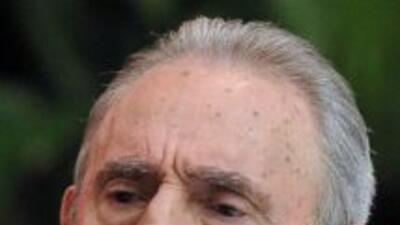 El líder cubano, Fidel Castro.