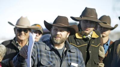 Ammon Bundy, uno de los líderes de la protesta en Oregon