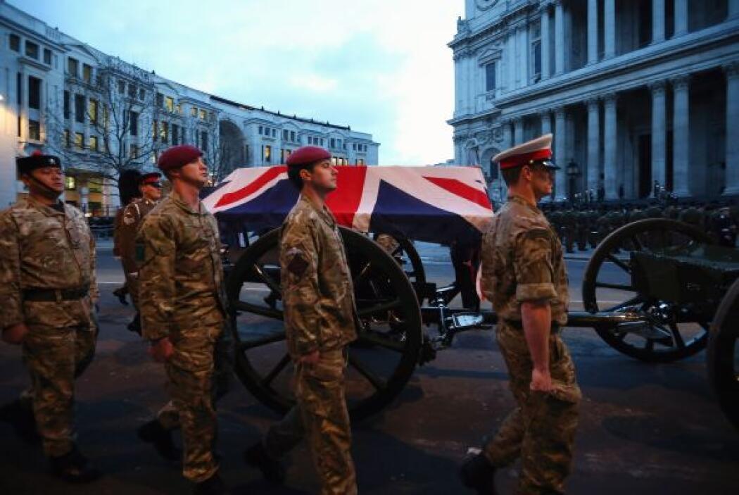 Está prevista la participación de más de 700 militares, muchos de ellos...