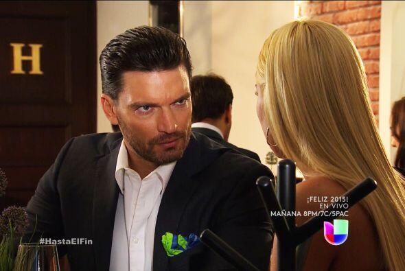 ¡No Sofía! Todas las palabras que Patricio te está diciendo son mentira.