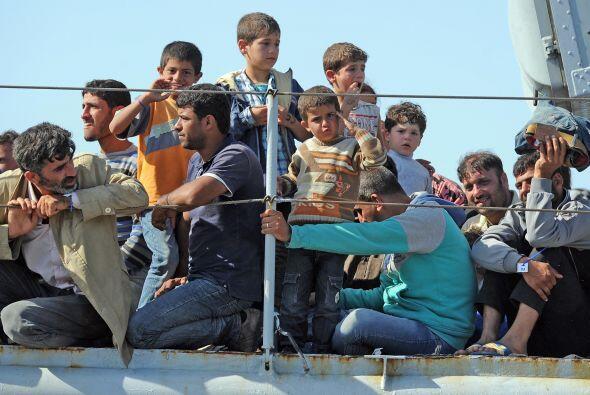 En los últimos ocho meses las autoridades italianas han rescatado...