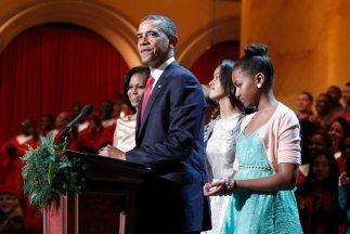 Obama jurará su cargo el domingo, en una breve ceremonia en la presencia...