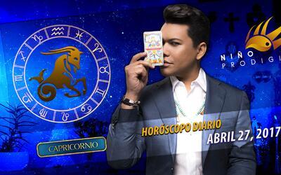 Niño Prodigio - Capricornio 27 de abril 2017