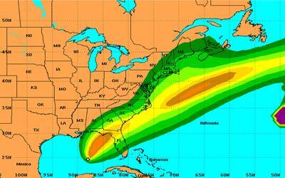 Hermine es la octava tormenta tropical en el Atlántico de esta temporada.
