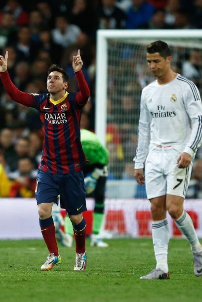 Lionel Messi fue el verdugo de los blancos en aquella tarde del 23 de ma...