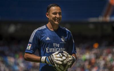 Keylor Navas acumula cinco partidos sin recibir gol en inicio de temporada.