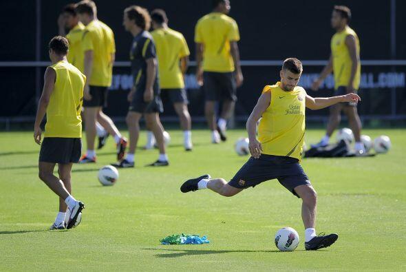 Los pupilos de Josep Guardiola iniciaron entrenamientos.