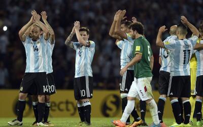 Argentina ganó dos de dos en Sudamérica.