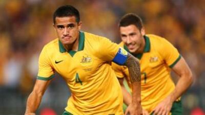 Cahill hizo el tanto para el empate de los 'Socceroos'.