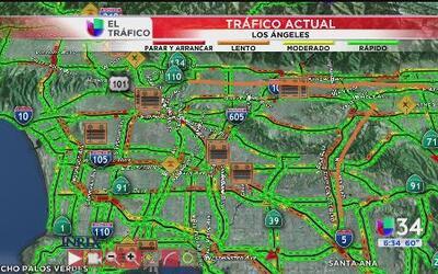 Reporte del tráfico: 5 de mayo