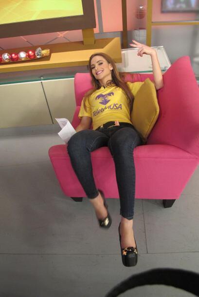 Pero no solo Alana necesitó de un descanso, Ximena también decidió adueñ...