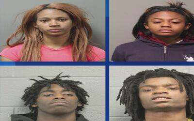 Jóvenes acusados de crimen de odio transmitido por redes sociales enfren...