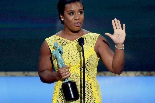 Uzo Aduba triunfó como Mejor actriz en comedia por su genial rol de 'Cra...