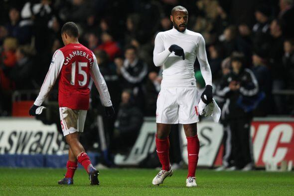 No hubo más goles y Arsenal cayó por 3-2 ante el Swansea....