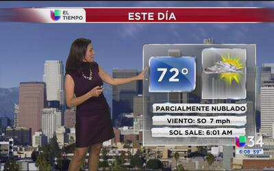 ¿Cuándo regresa la lluvia al sur de California?
