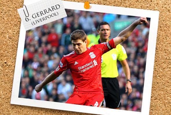 Ya lo extrañanabamos en esta sección y por eso vuelve Steven Gerrard.