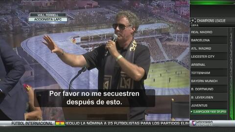 Will Ferrell, de Los Ángeles FC, dijo que no tienen plantel pero que igu...