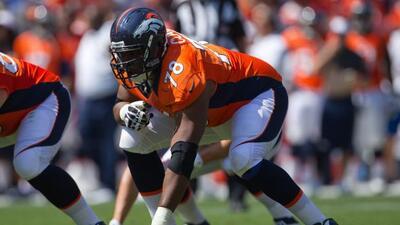 El tackle llegó a un acuerdo por cinco años con los Broncos.
