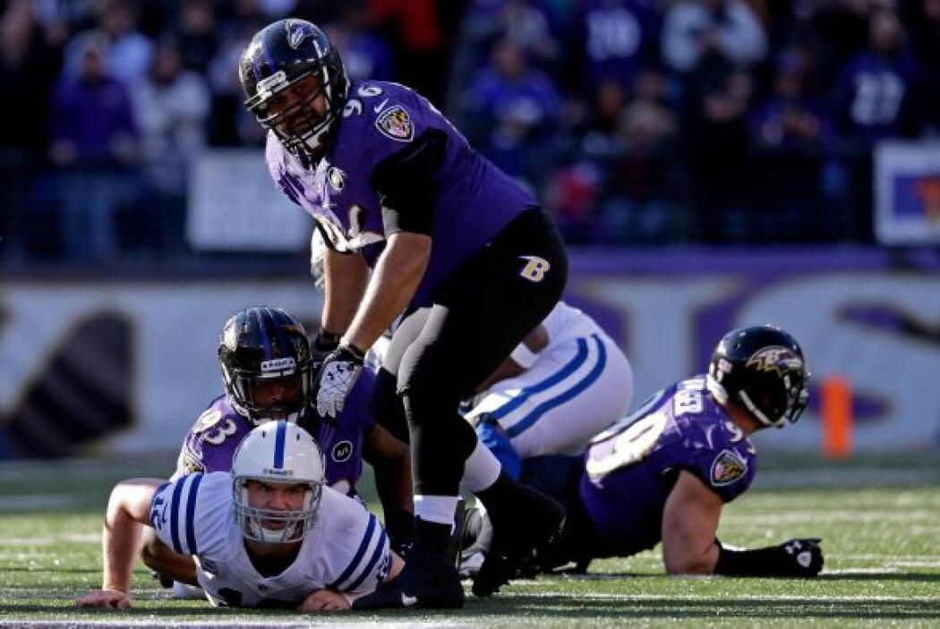 La clave de los Ravens: presionar continuamente a Andrew Luck.