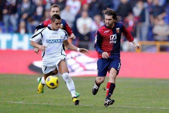 Gran duelo el que protagonizaron Genoa y Udinese.