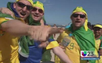 Entre fiesta y protestas dio comienzo el Mundial en Brasil