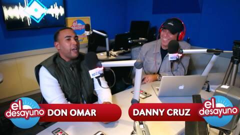 Don Omar habla sobre la relación que lleva con Zion y Lennox