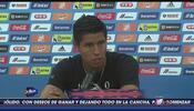 Hugo Ayala: 'El equipo tiene que verse sólido dentro del terreno de juego'