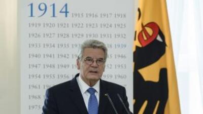 Joachim Gauck, Presidente de Alemania, estará presente en la Final de la...
